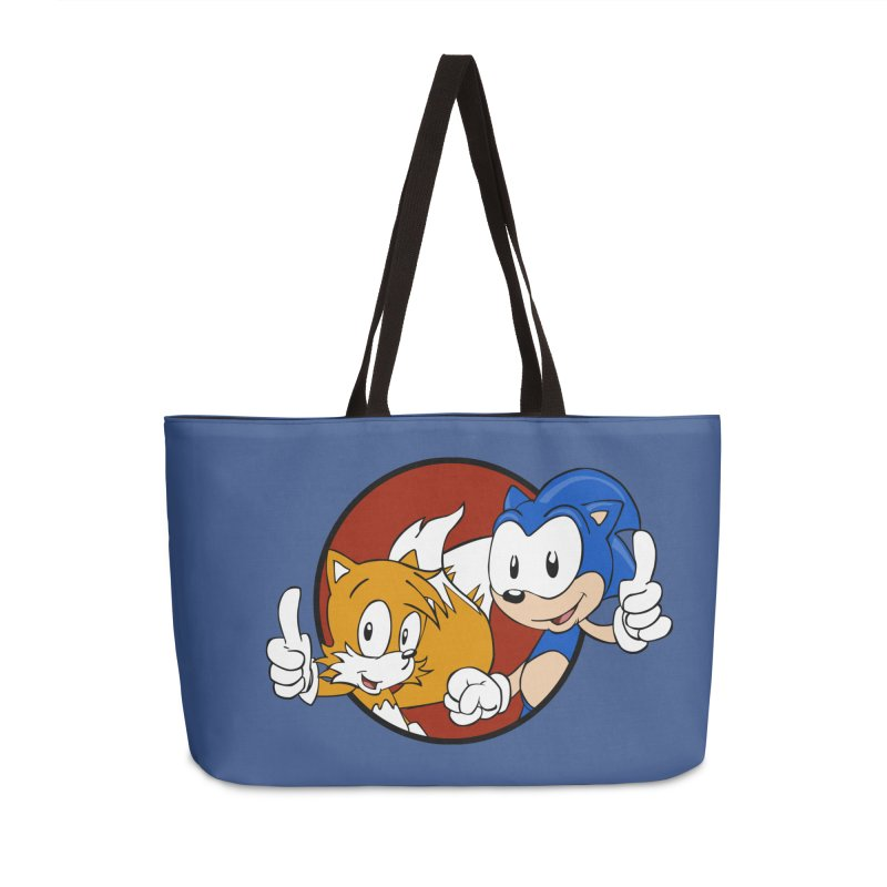 Sonic and Tails Accessories Bag by Stonestreet Designs
