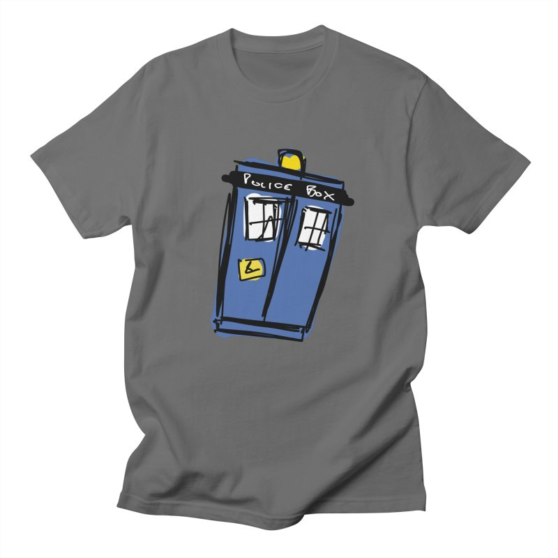 Police Box Men's T-Shirt by Stonestreet Designs