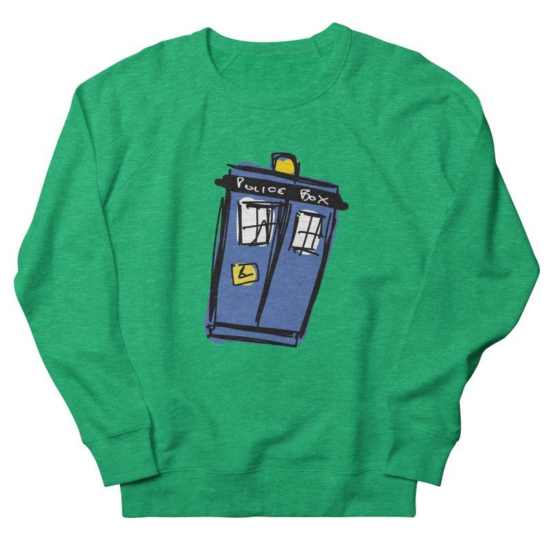 Police Box Women's Sweatshirt by Stonestreet Designs