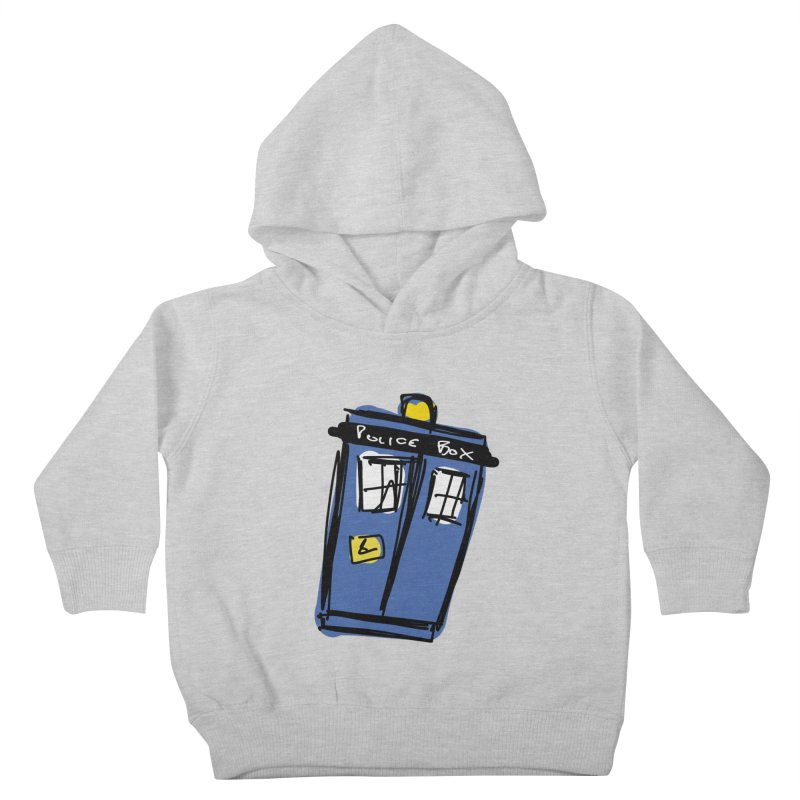 Police Box Kids Toddler Pullover Hoody by Stonestreet Designs