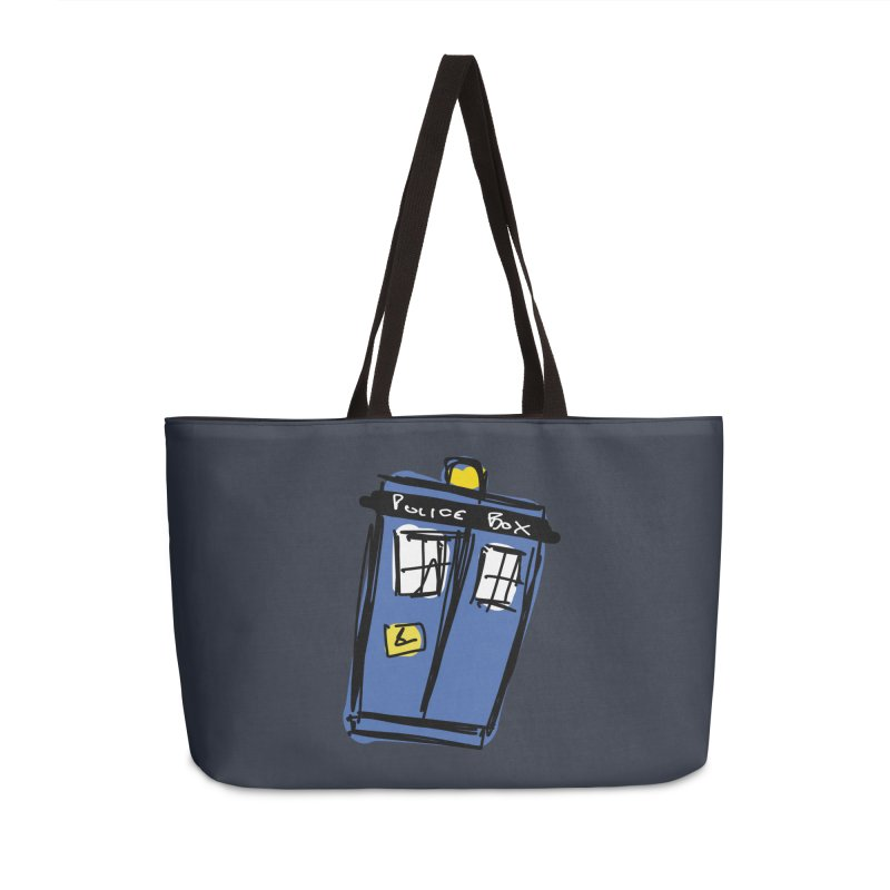 Police Box Accessories Bag by Stonestreet Designs