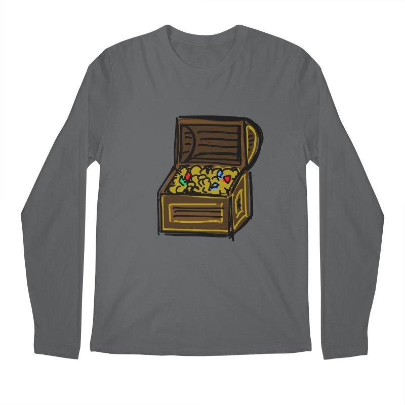 Treasure Chest Men's Longsleeve T-Shirt by Stonestreet Designs