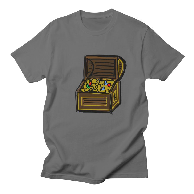 Treasure Chest Men's T-Shirt by Stonestreet Designs