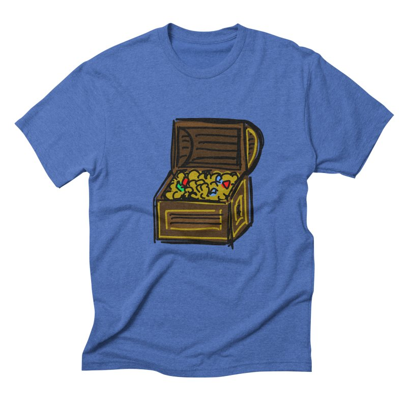 Treasure Chest Men's T-Shirt by Stonestreet Designs