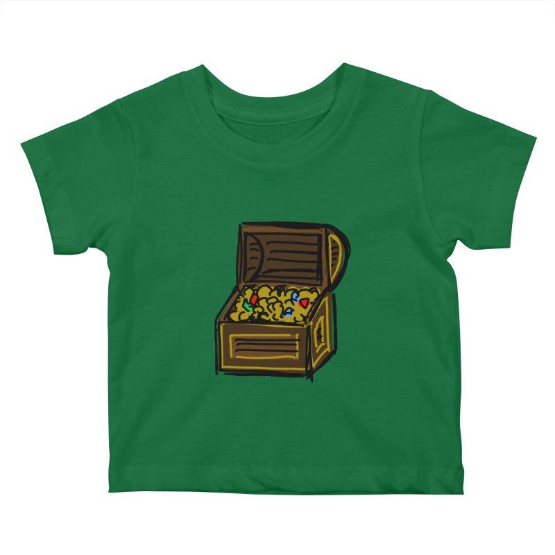 Treasure Chest Kids Baby T-Shirt by Stonestreet Designs