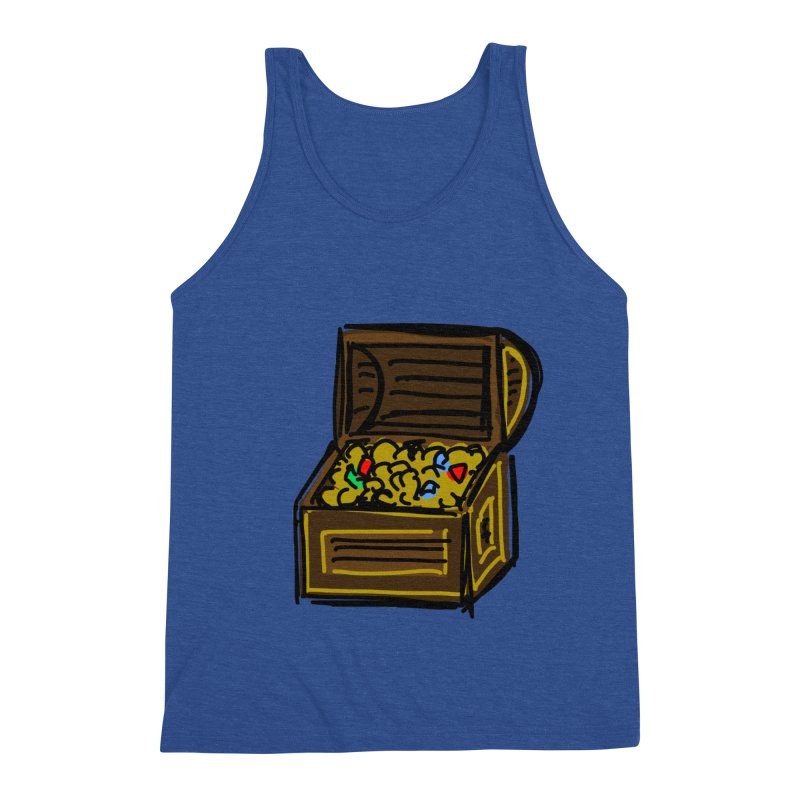 Treasure Chest Men's Tank by Stonestreet Designs