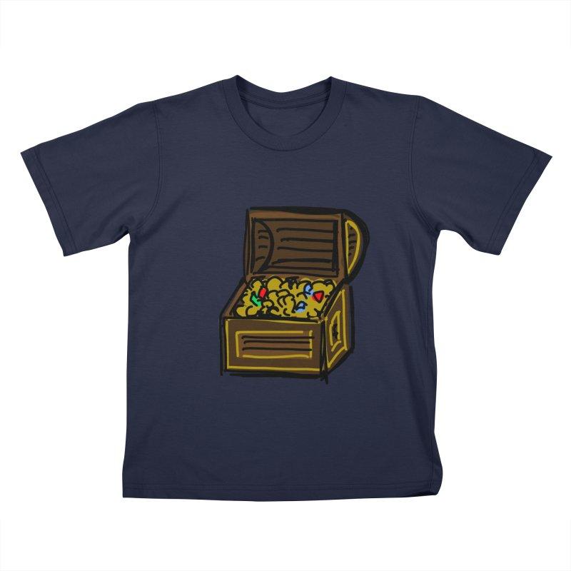 Treasure Chest Kids T-Shirt by Stonestreet Designs