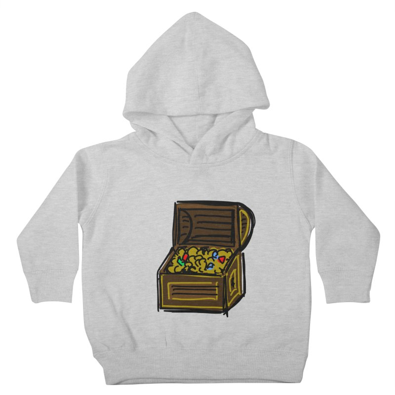Treasure Chest Kids Toddler Pullover Hoody by Stonestreet Designs