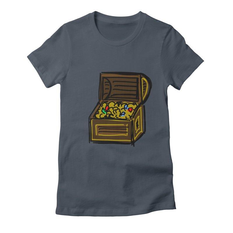 Treasure Chest Women's T-Shirt by Stonestreet Designs