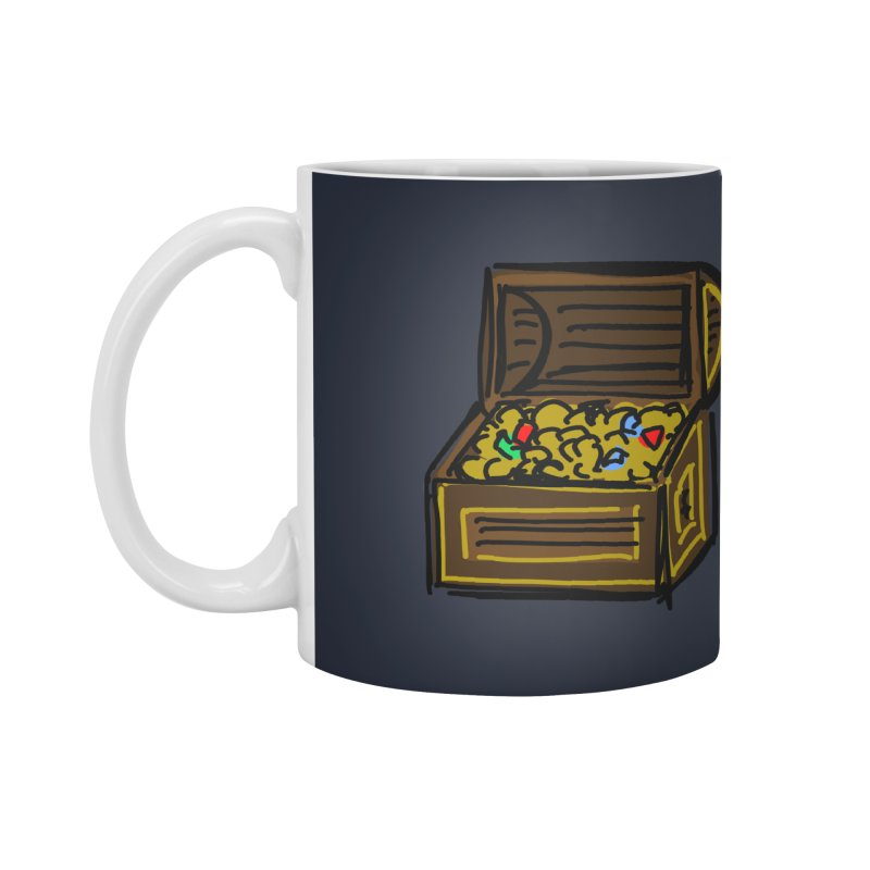 Treasure Chest Accessories Mug by Stonestreet Designs