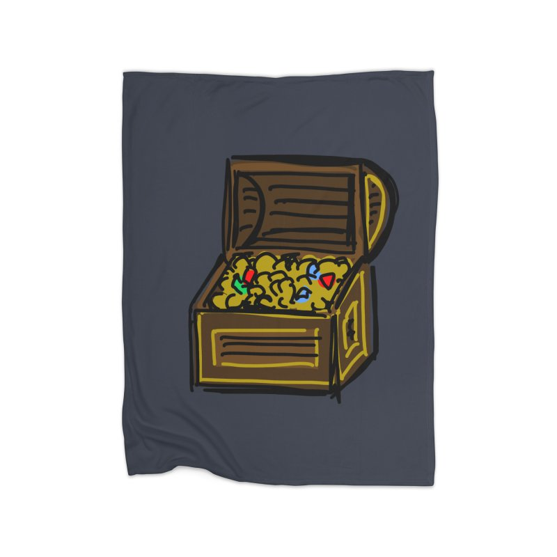 Treasure Chest Home Blanket by Stonestreet Designs