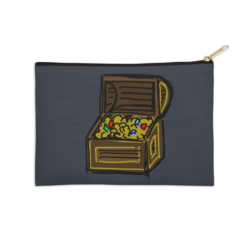 Treasure Chest Accessories Zip Pouch by Stonestreet Designs