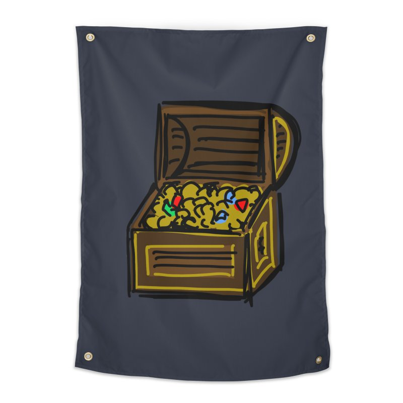 Treasure Chest Home Tapestry by Stonestreet Designs
