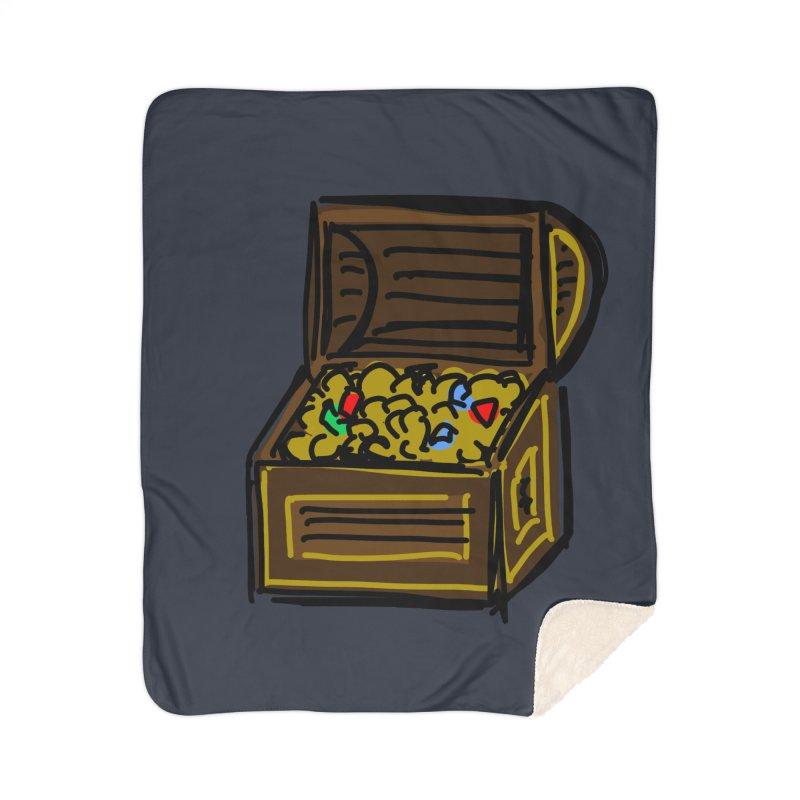 Treasure Chest Home Blanket by Stonestreet Designs