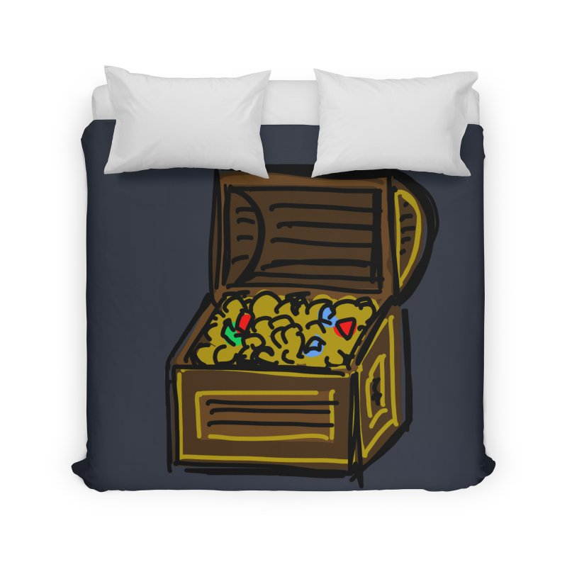 Treasure Chest Home Duvet by Stonestreet Designs