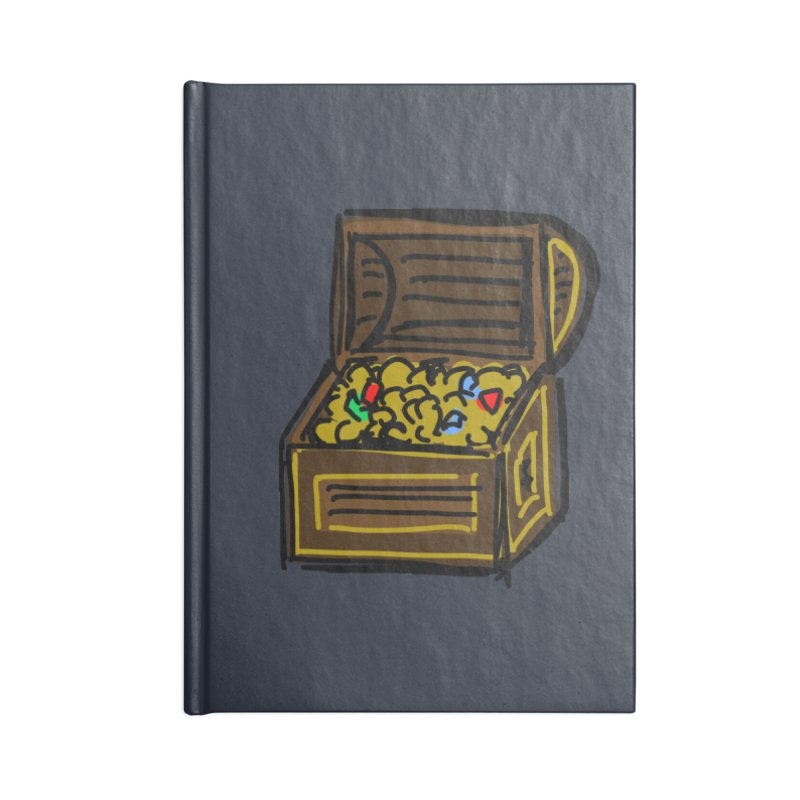 Treasure Chest Accessories Notebook by Stonestreet Designs