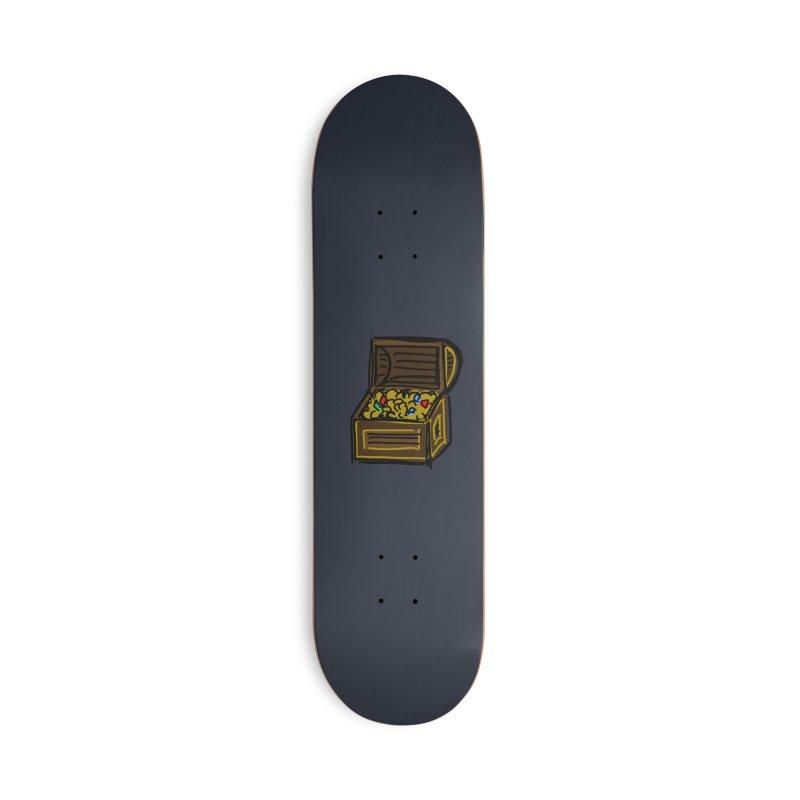 Treasure Chest Accessories Skateboard by Stonestreet Designs
