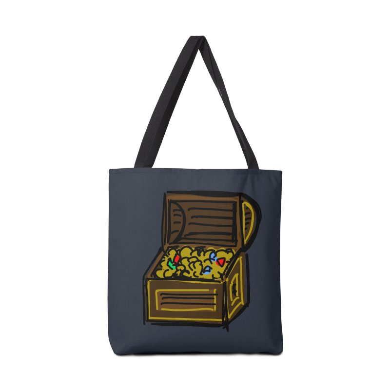 Treasure Chest Accessories Bag by Stonestreet Designs
