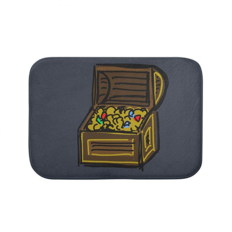 Treasure Chest Home Bath Mat by Stonestreet Designs