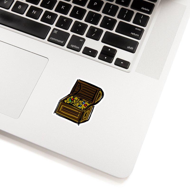 Treasure Chest Accessories Sticker by Stonestreet Designs