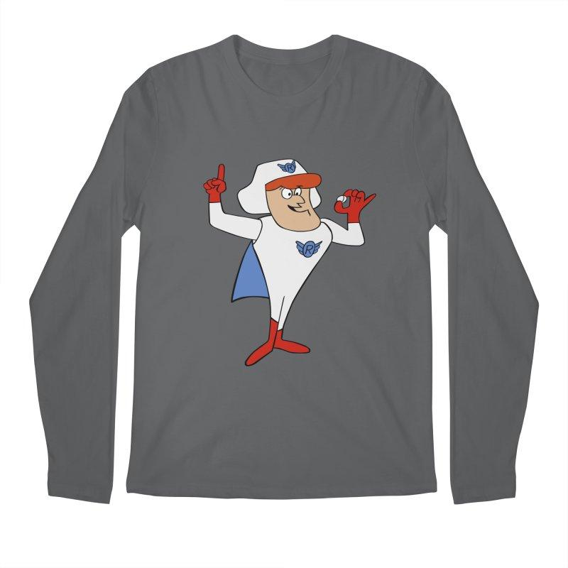 Roger Ramjet Men's Longsleeve T-Shirt by Stonestreet Designs