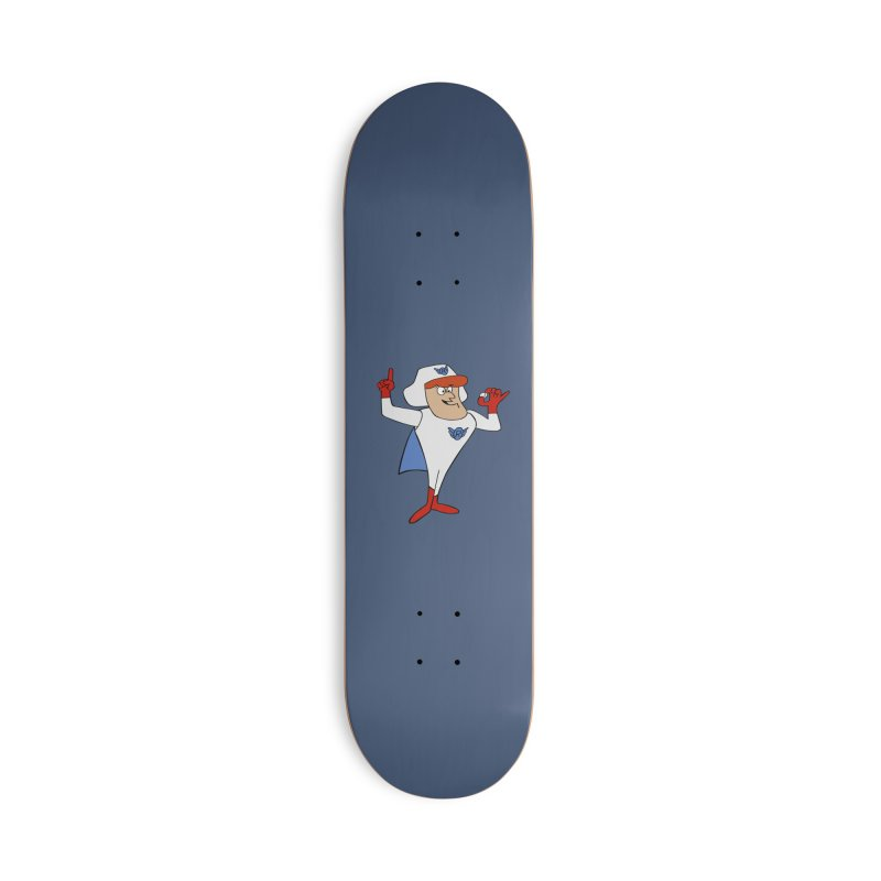 Roger Ramjet Accessories Skateboard by Stonestreet Designs