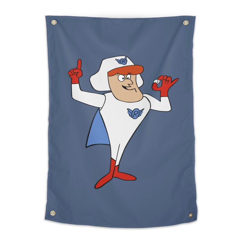 Roger Ramjet Home Tapestry by Stonestreet Designs