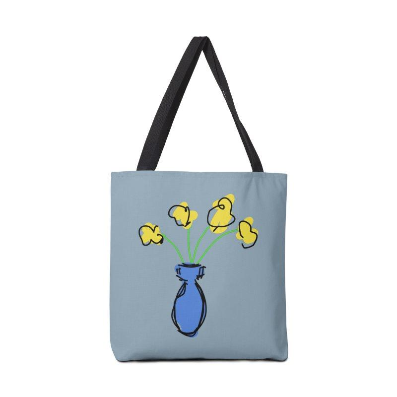 Vase of Flowers Accessories Bag by Stonestreet Designs