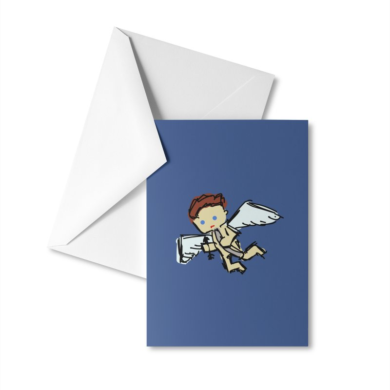 Cupid Accessories Greeting Card by Stonestreet Designs