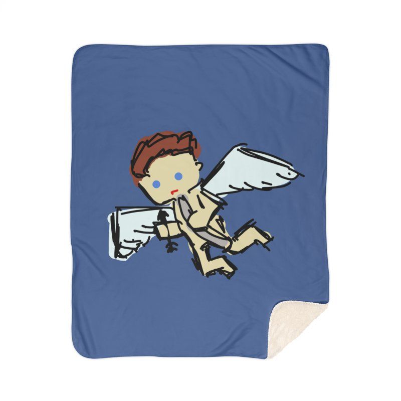 Cupid Home Blanket by Stonestreet Designs