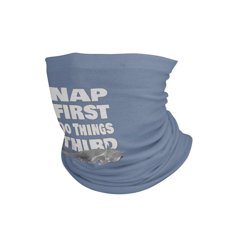 Nap First Accessories Neck Gaiter by Stonestreet Designs