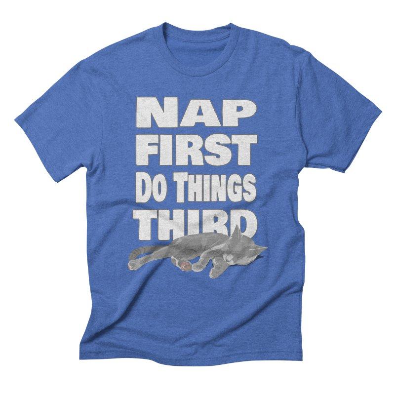 Nap First Men's T-Shirt by Stonestreet Designs