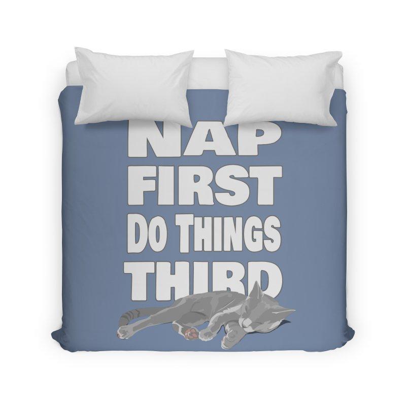 Nap First Home Duvet by Stonestreet Designs