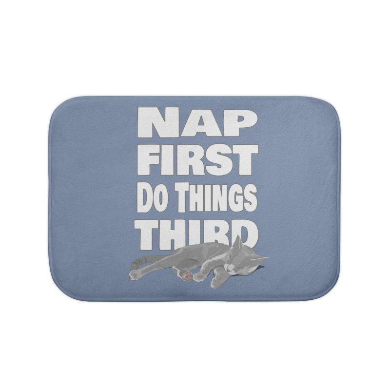 Nap First Home Bath Mat by Stonestreet Designs