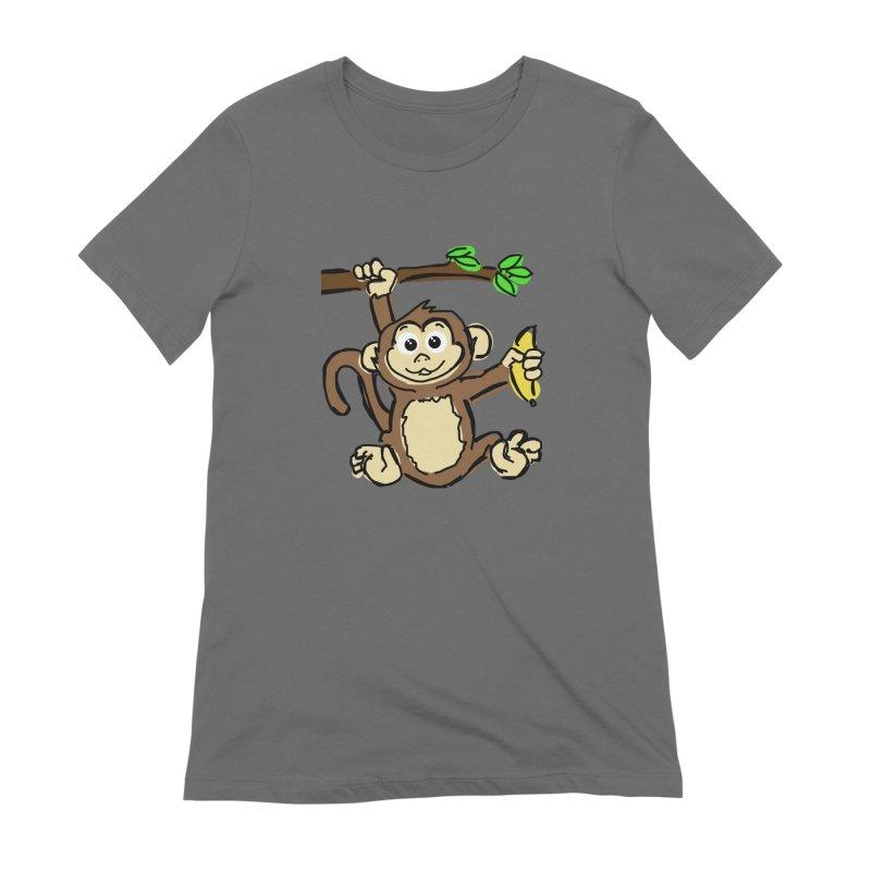 Monkey Women's T-Shirt by Stonestreet Designs