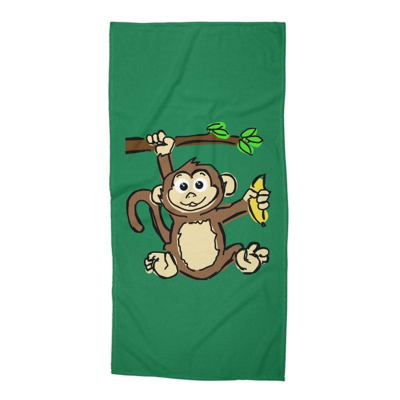 Monkey Accessories Beach Towel by Stonestreet Designs