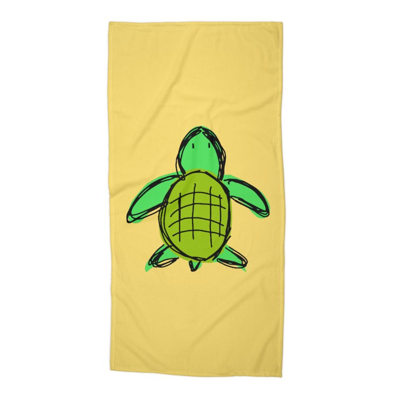 Turtle Accessories Beach Towel by Stonestreet Designs