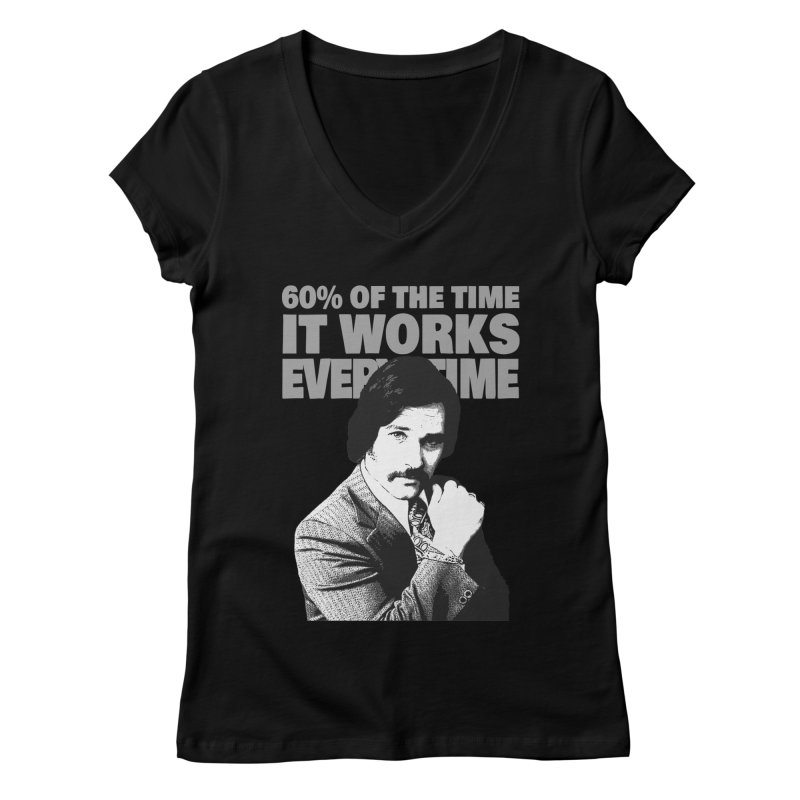 Works Every Time Women's V-Neck by Stonestreet Designs