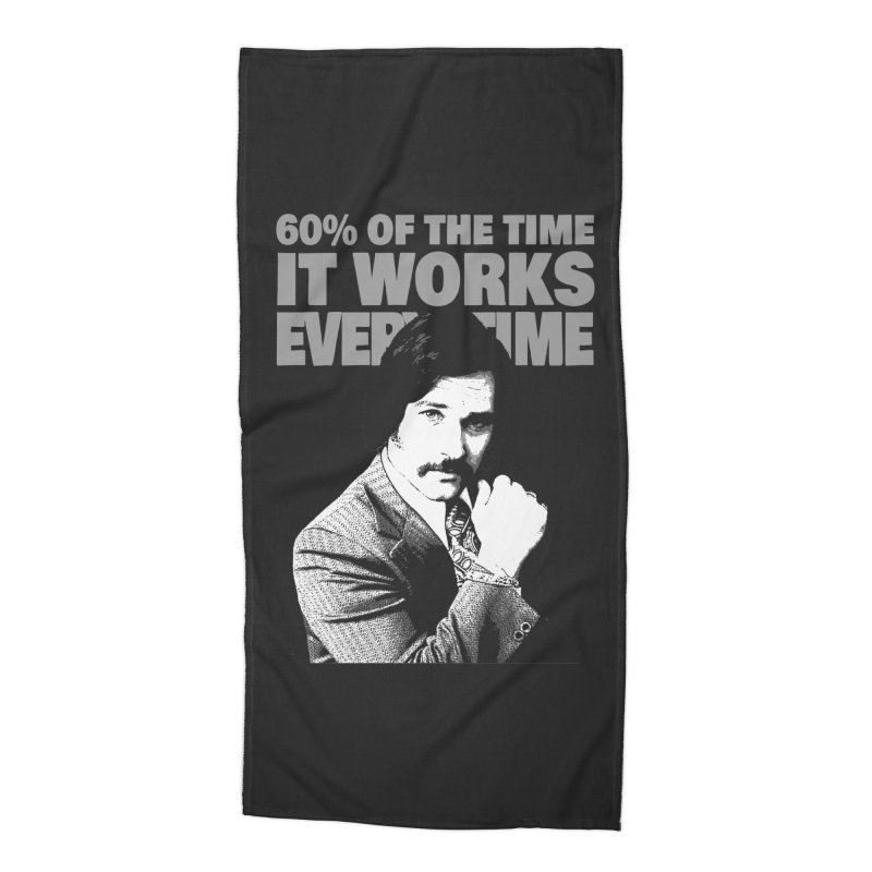 Works Every Time Accessories Beach Towel by Stonestreet Designs