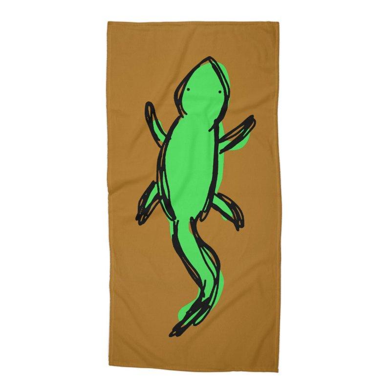 Lizard Accessories Beach Towel by Stonestreet Designs