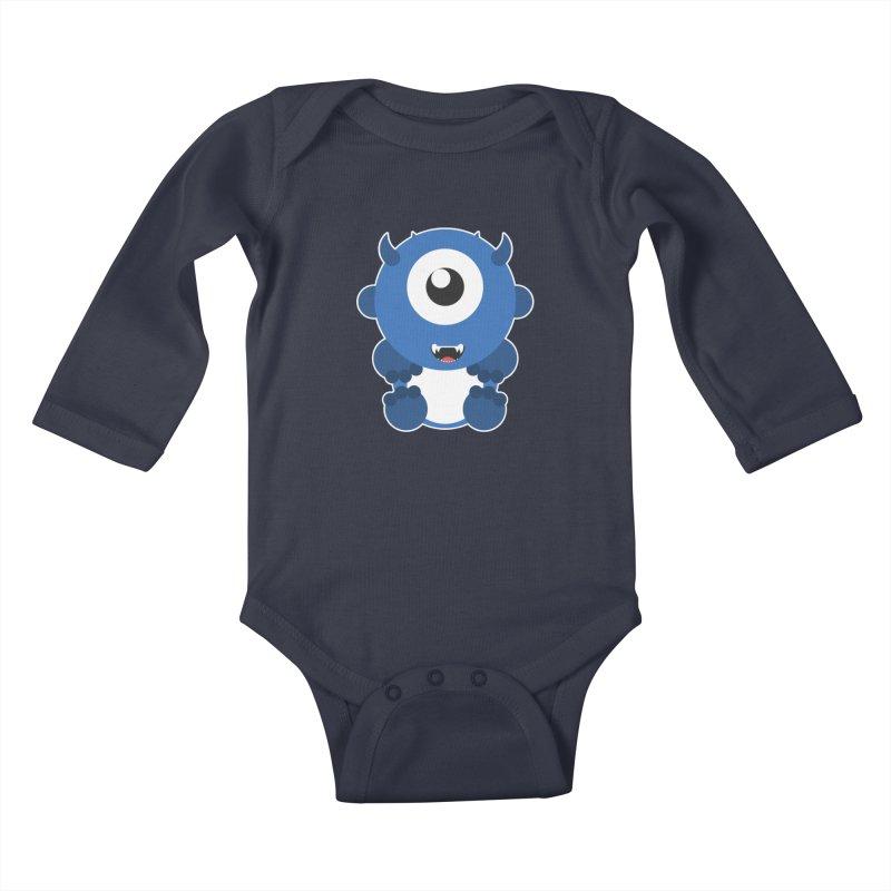 Atticus Kids Baby Longsleeve Bodysuit by Stonestreet Designs