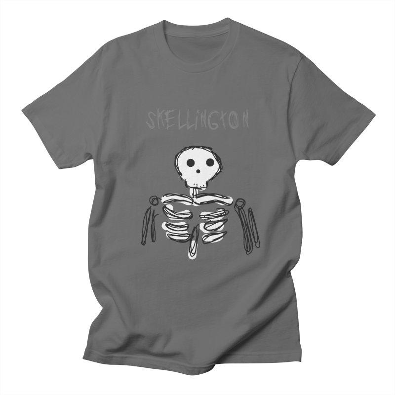 Skellington Men's T-Shirt by Stonestreet Designs