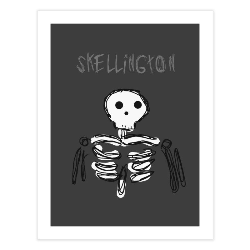 Skellington Home Fine Art Print by Stonestreet Designs