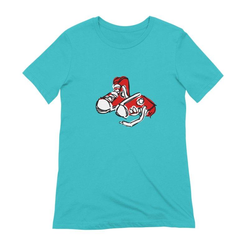 Chucks Women's T-Shirt by Stonestreet Designs