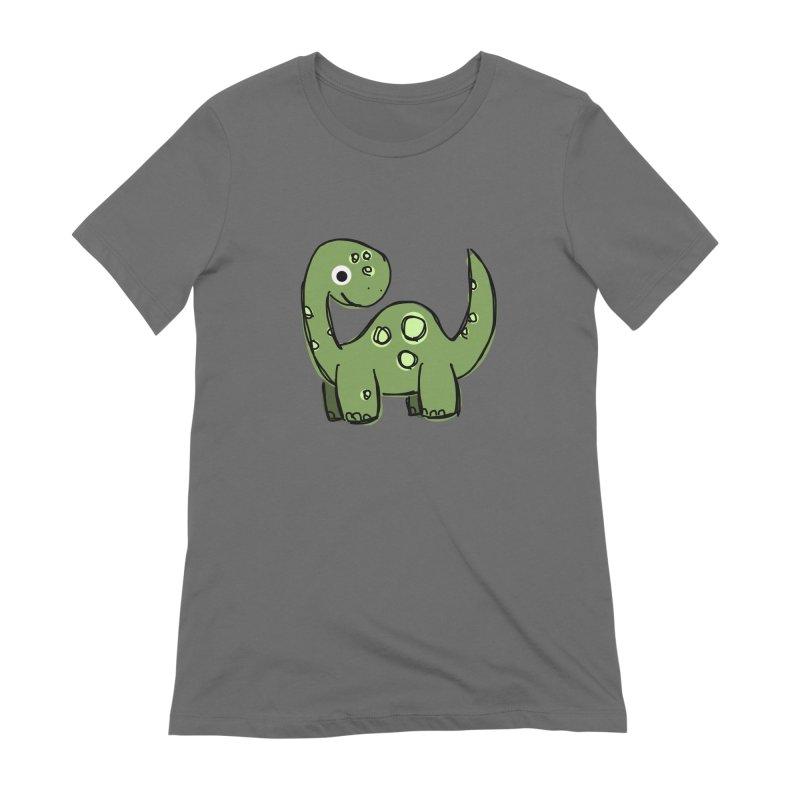 Brontosaurus Women's T-Shirt by Stonestreet Designs