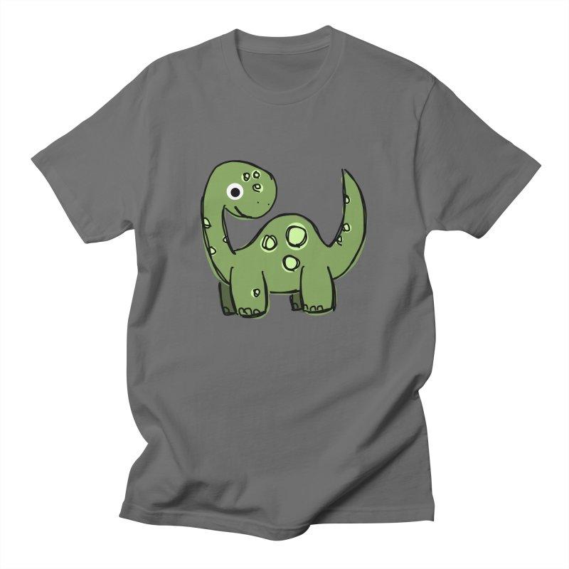 Brontosaurus Men's T-Shirt by Stonestreet Designs