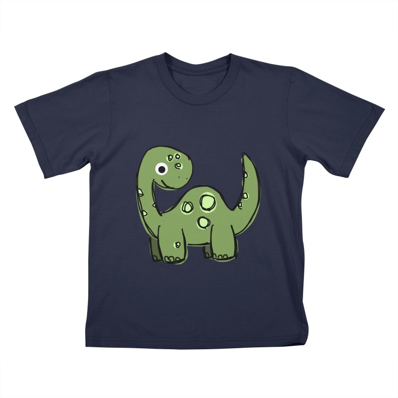 Brontosaurus Kids T-Shirt by Stonestreet Designs