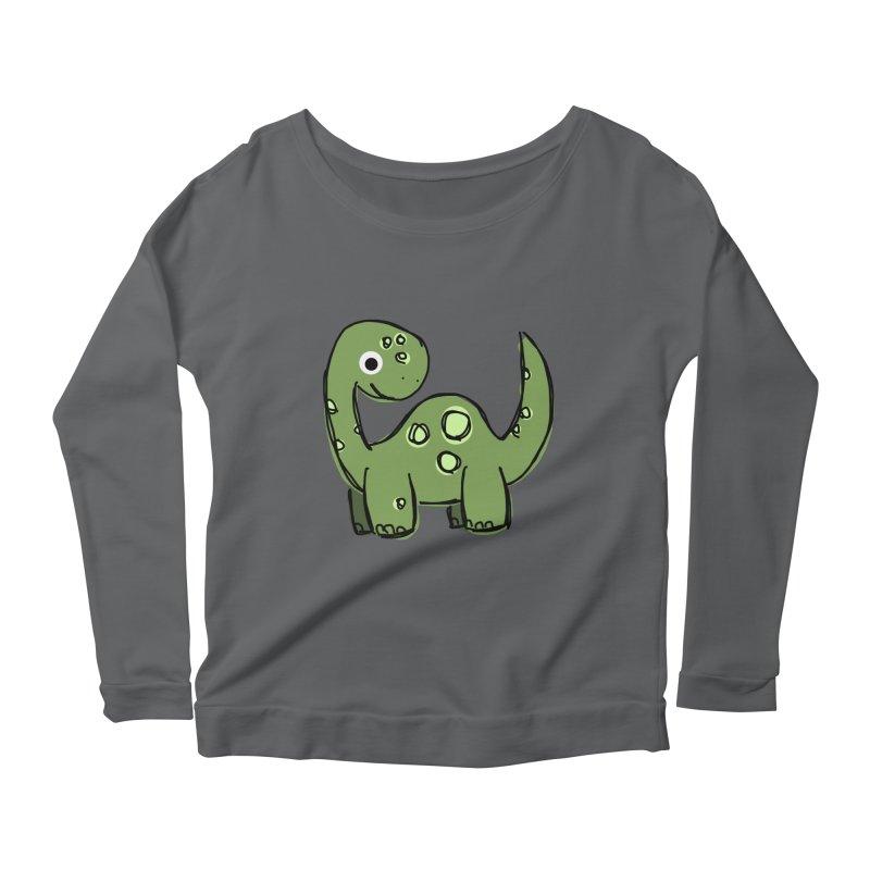 Brontosaurus Women's Longsleeve T-Shirt by Stonestreet Designs