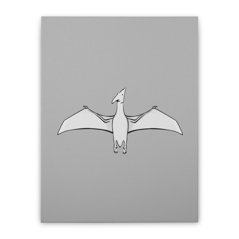 Pterodactyl Home Stretched Canvas by stonestreet's Artist Shop