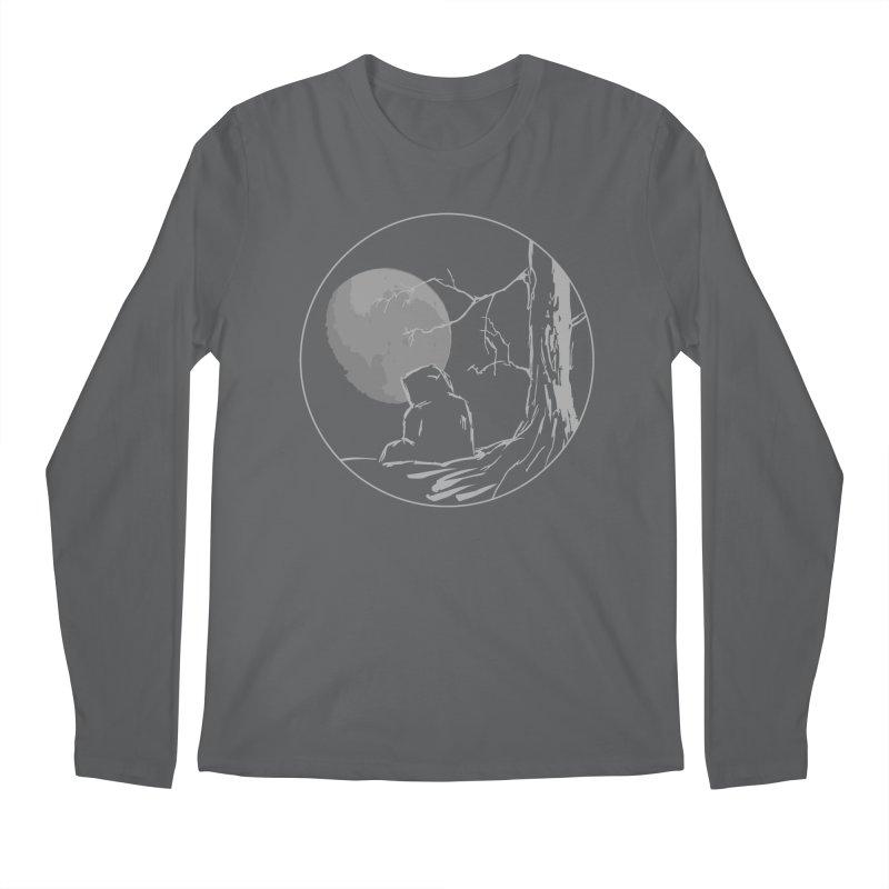 Light of the Moon Men's Longsleeve T-Shirt by stonestreet's Artist Shop